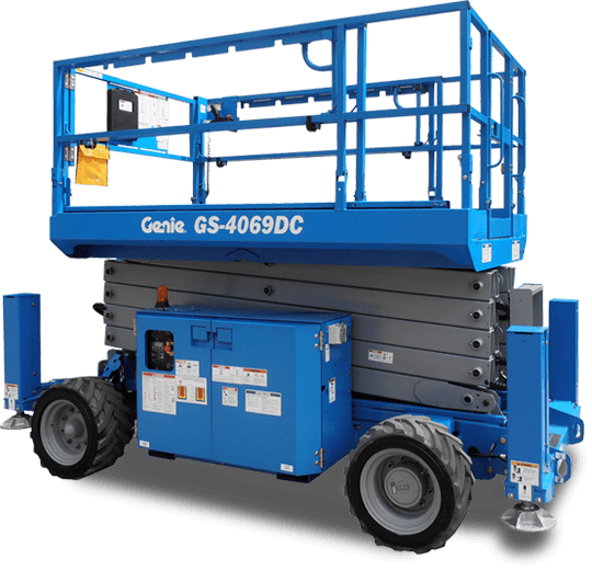 Genie gs4069dc Yellowknife - Heavy Equipment Rentals by Midnight Sun Energy