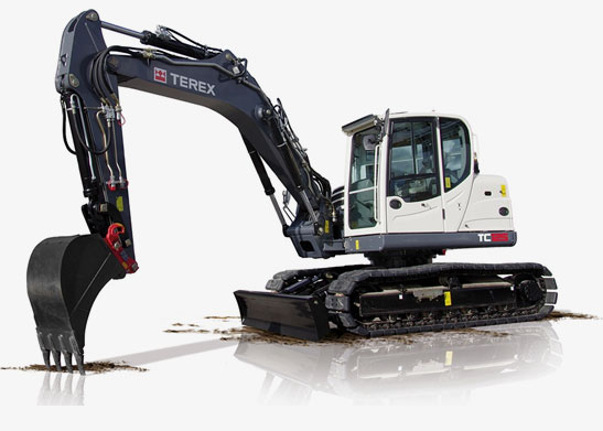Terex Digger / Excavator Yellowknife - Heavy Equipment Rentals by Midnight Sun Energy