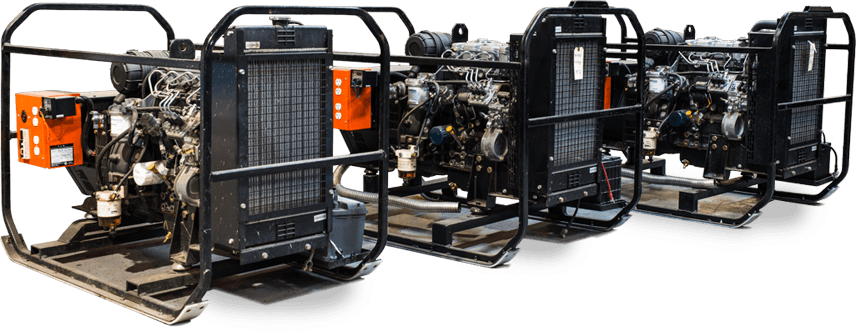 Diesel Generators for Northern Climates - Power Generator Rentals Yellowknife
