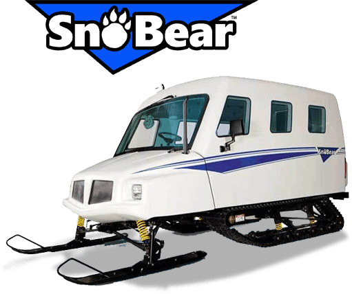 SnoBear is great for Recreation and Searcha and Rescue
