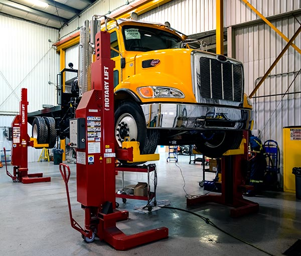 Service capabilities - truck maintainence - Mining, Construction and Power Solutions | Yellowknife Canada
